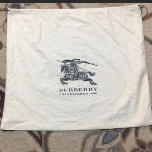 Burberry Drawstring Dustbag